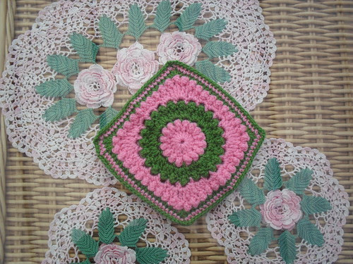 I just love these two colours together. It's our Circle of Friends Squares! Beautiful!
