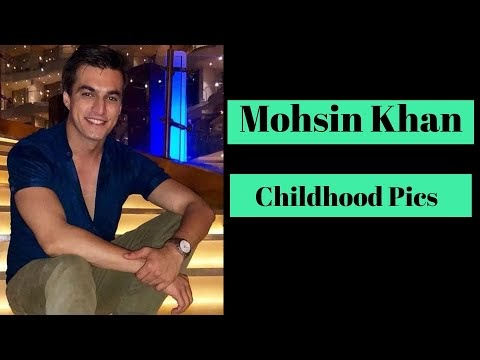 TV Actor Mohsin Khan Childhood Photos