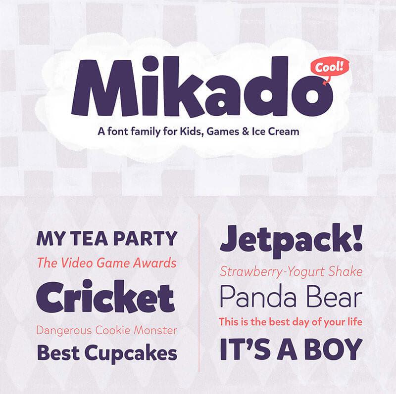 mikado-font