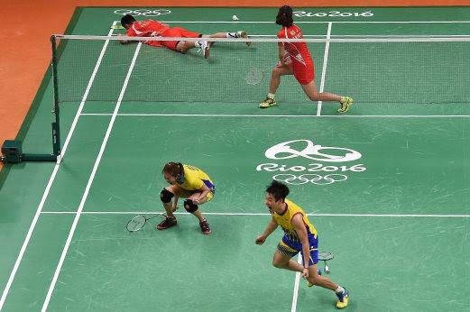 Beregu Campuran Badminton Layak Ke Final Olimpik Rio 2016