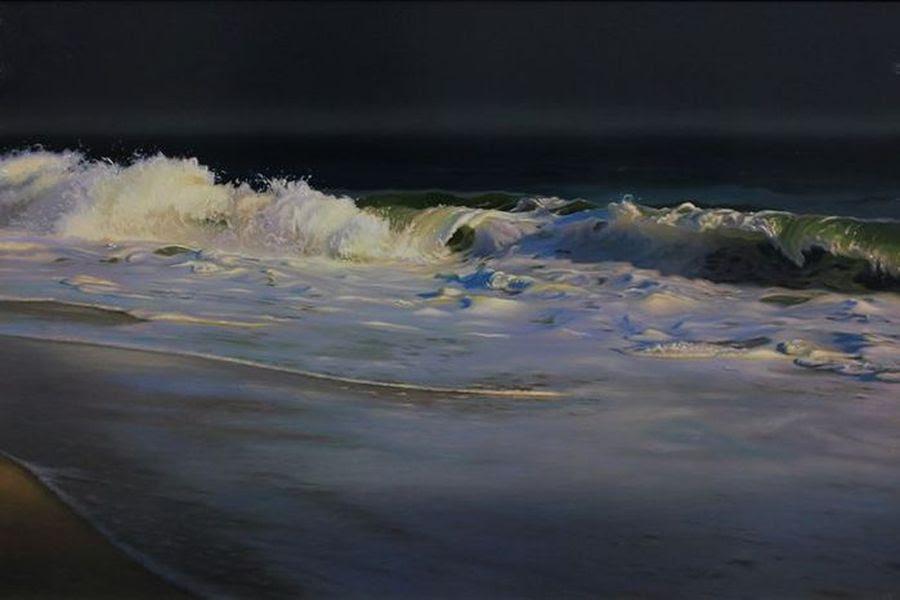 Гиперреалистичные картины с морским пейзажем художника Мэтью Корнелл (Matthew Cornell)