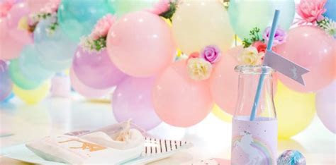 Kara's Party Ideas Floral Rainbow Glam Unicorn Birthday