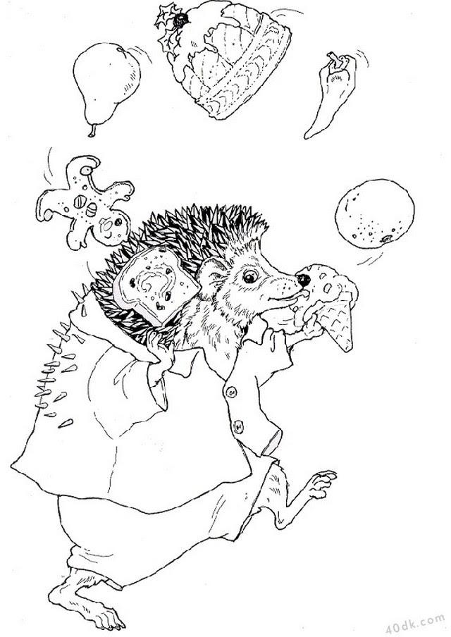 Sevimli Hayvanlar Boyama Sayfaları 2