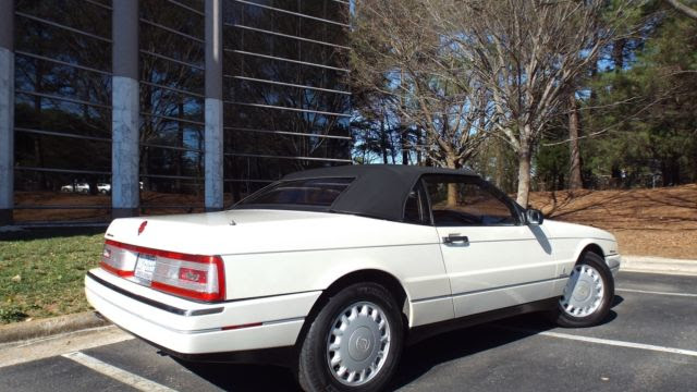 93 Cadillac Allante Convertible by Pininfarina 56k miles ...