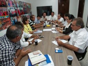 Roberto Rocha e Carlos Brandão reúnem-se com líderes políticos maranhenses para definir as estratégias da campanha do tucano no MA