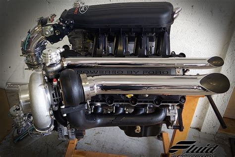 twin turbocharged  liter coyote  powered jet boat