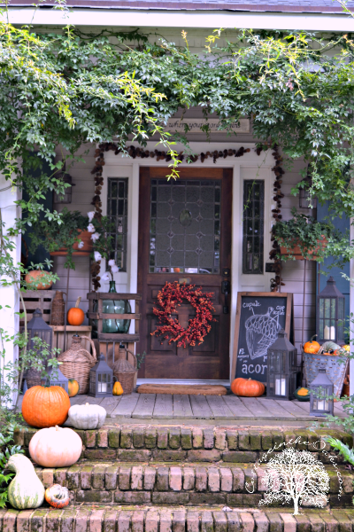 Autumn Front Porch