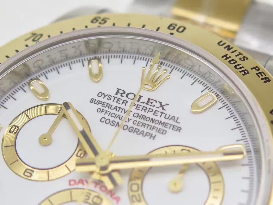 Replica Rolex Daytona Gold Bezel