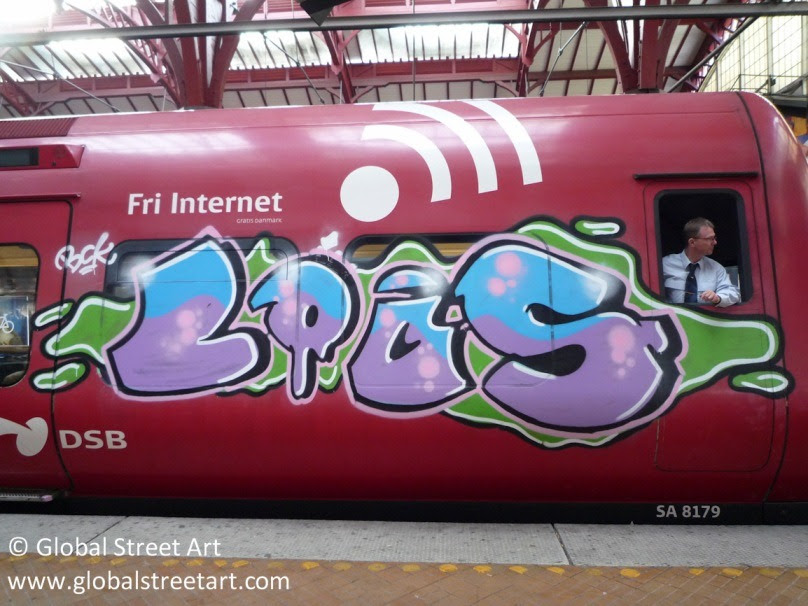 Global Street Art • I have a major weakness for train ...