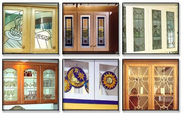 Stained Glass Kitchen Cabinets Doors