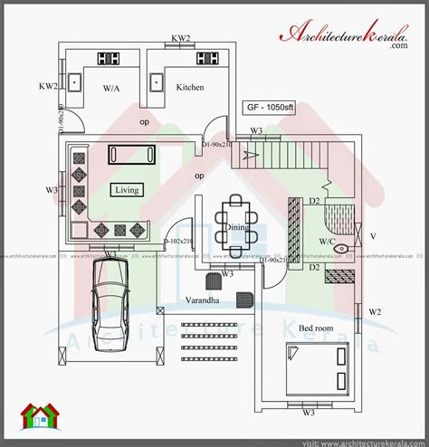 bedroom  storey house plan architecture kerala