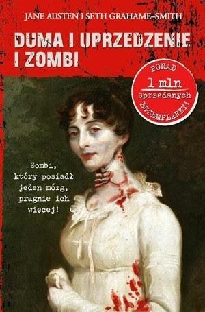 Okładka książki Duma i uprzedzenie i zombi