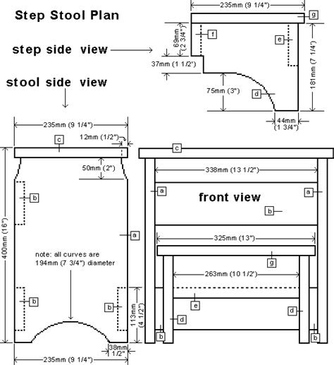 child step stool plans easy diy woodworking projects
