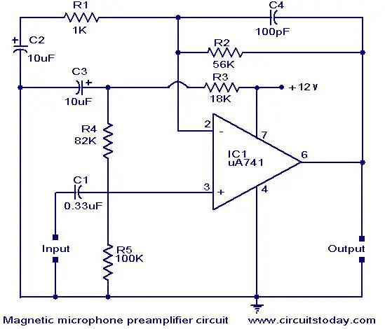 audio amplifier wiring diagram 12v audio amplifier circuit diagram 12v audio amplifier circuit | circuit diagram images #10