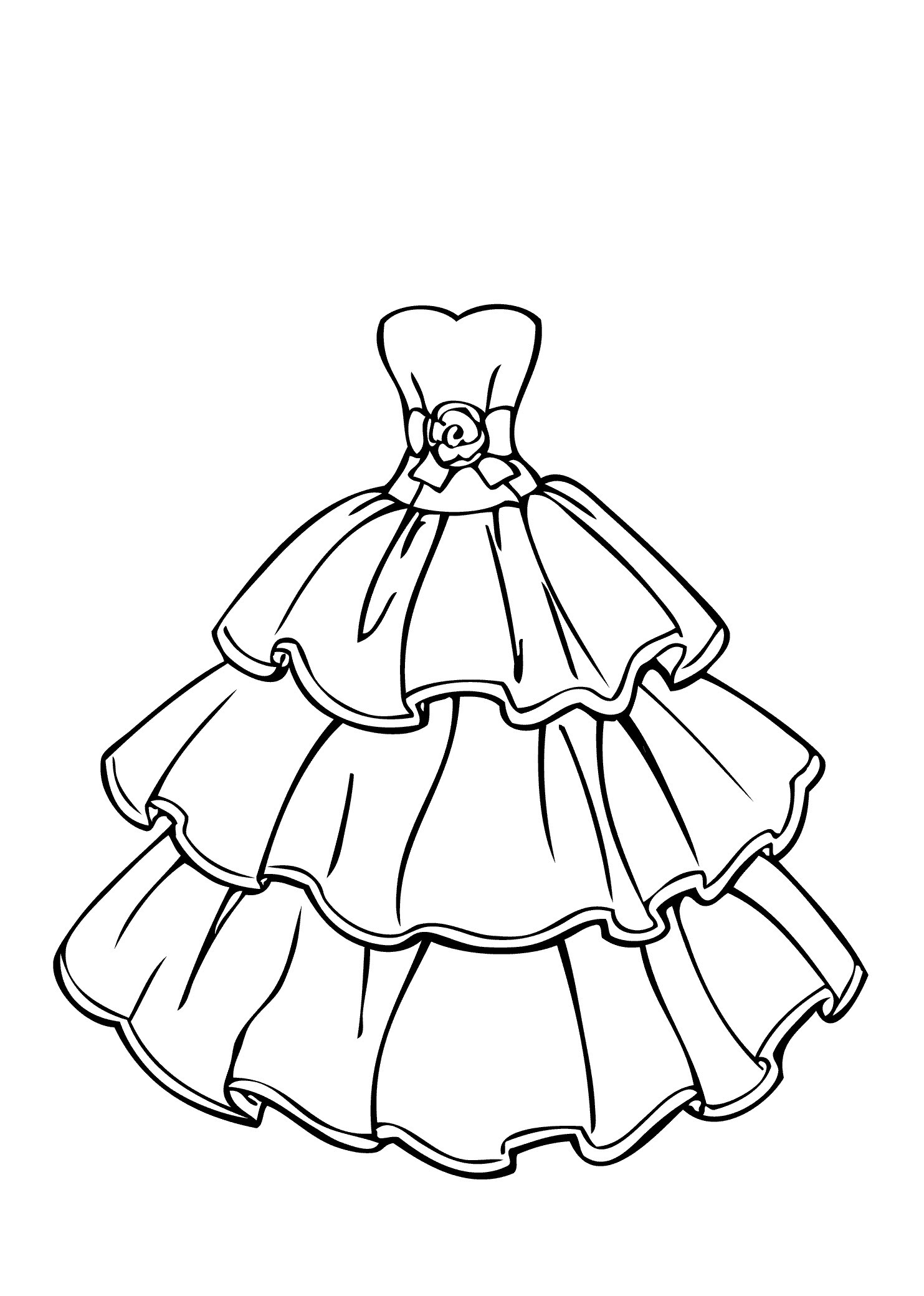 Download Outfit Coloring Pages at GetColorings.com   Free printable ...