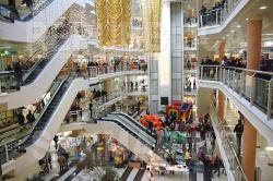 centro commerciale interno