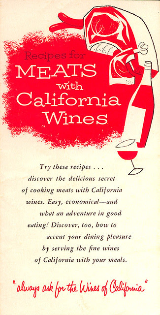 California Wines: Meats
