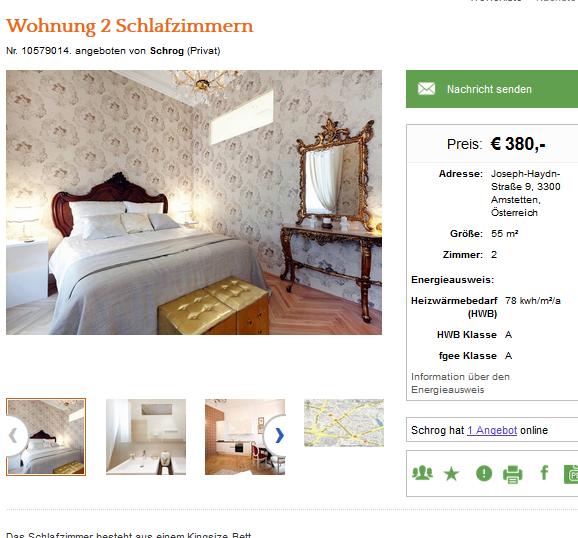 Wohnungsbetrug.blogspot.com: Wohnung 2 Schlafzimmern