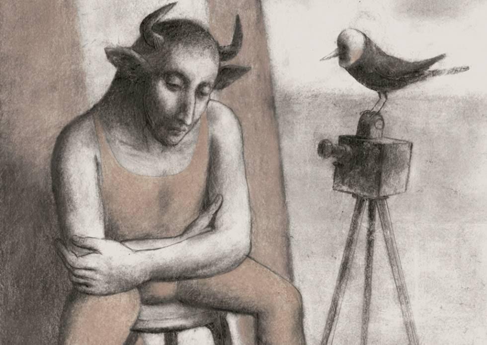 Ilustración de Pablo Auladell para 'La feria abandonada'.