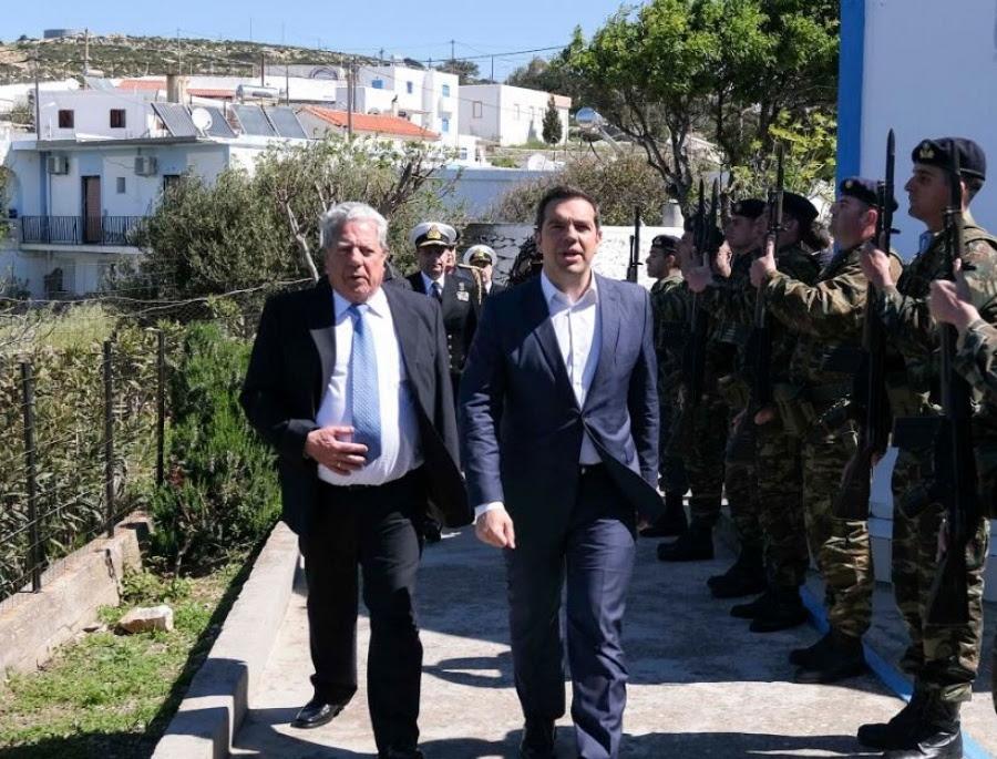 Τσίπρας: Ανόητες οι ενέργειες της Τουρκίας -  Μαχητικά παρενόχλησαν το ελικόπτερό μου - Δεν υπάρχει γωνιά που δεν θα την υπερασπιστούμε