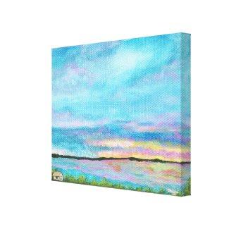Good Morning Canvas Print Decor From Original Art