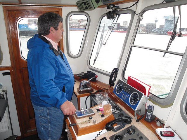 Rob at the Helm