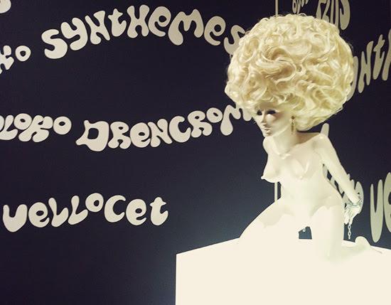 A Clockwork Orange Korova Milk Bar Kubrick exhibit LACMA