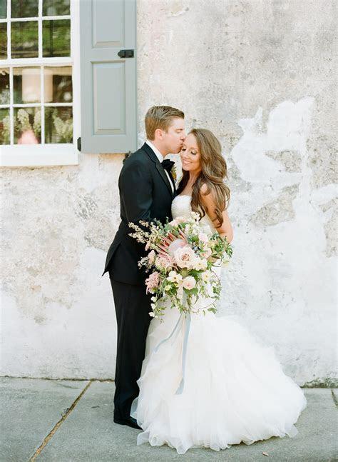 Jennifer and Clay   Charleston Wedding at the Gadsden House