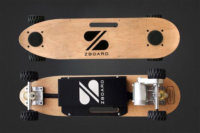 ZBoard Electric Skateboard video