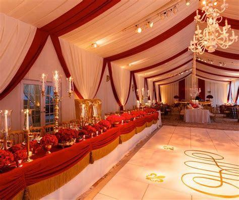 royal wedding, gold wedding, red roses, red wedding