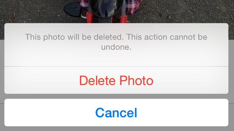 How to recover deleted photos in iOS