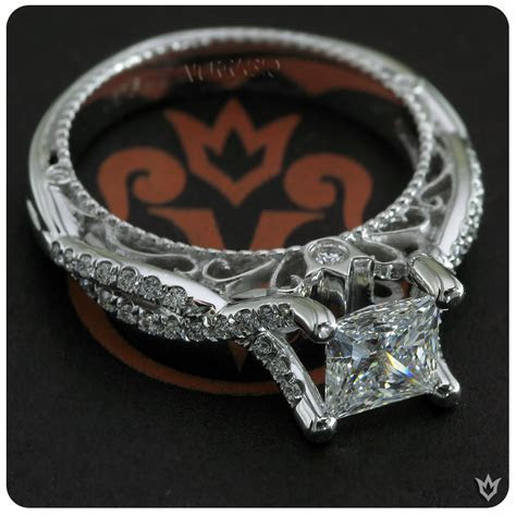 Engagement rings by Verragio, featuring Venetian 5003