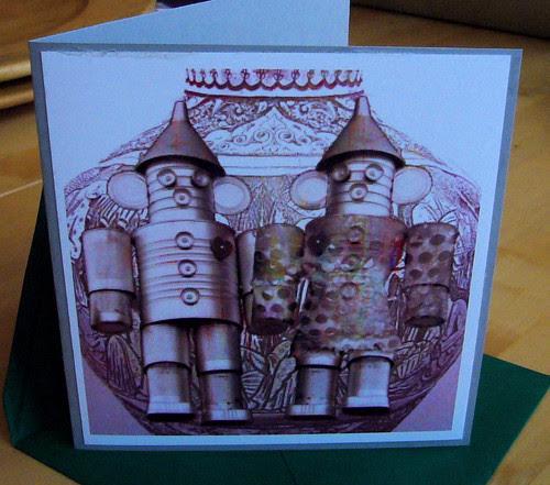 Tinth Anniversary Card