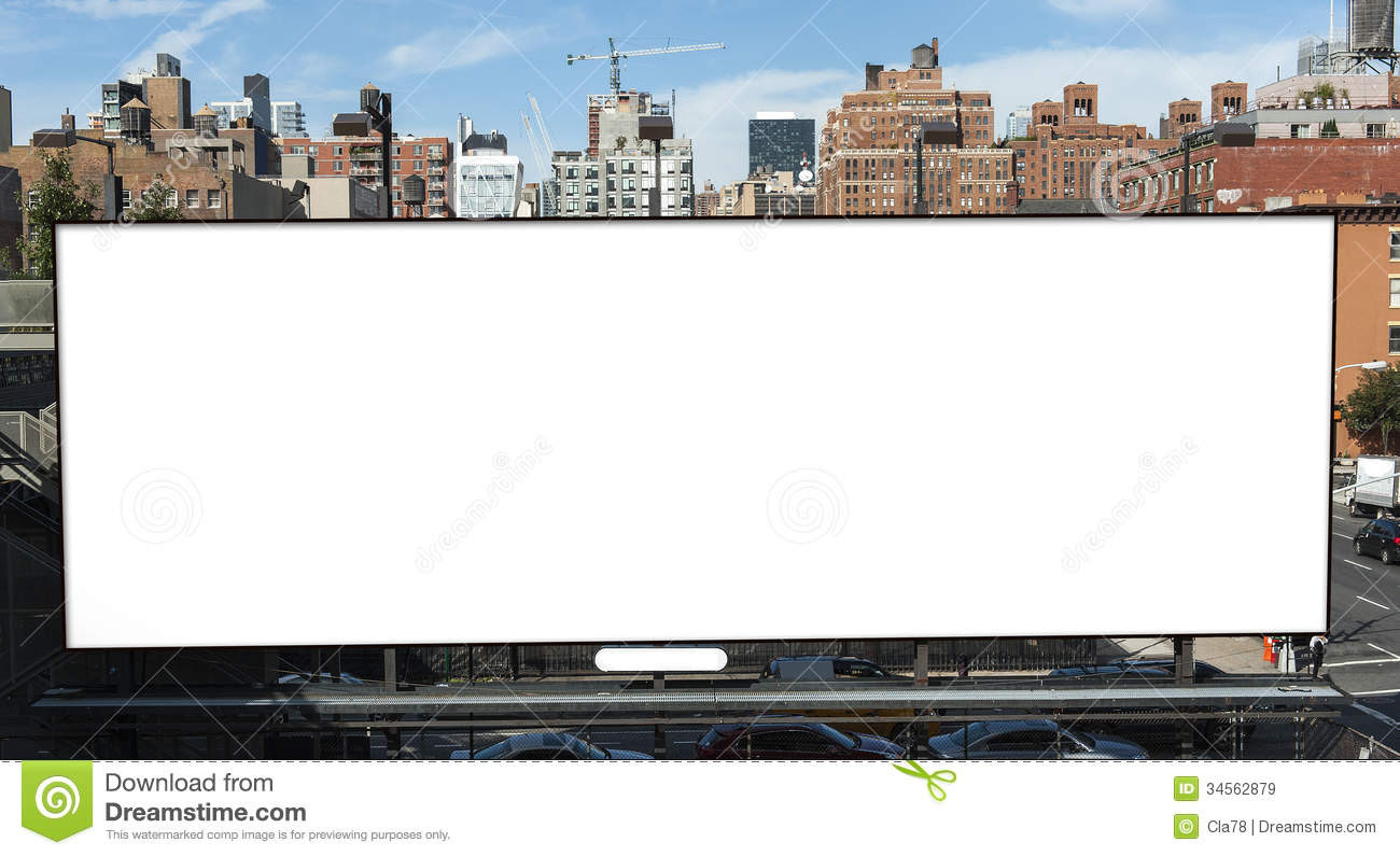 Billboard Royalty Free Stock Images - Image: 34562879