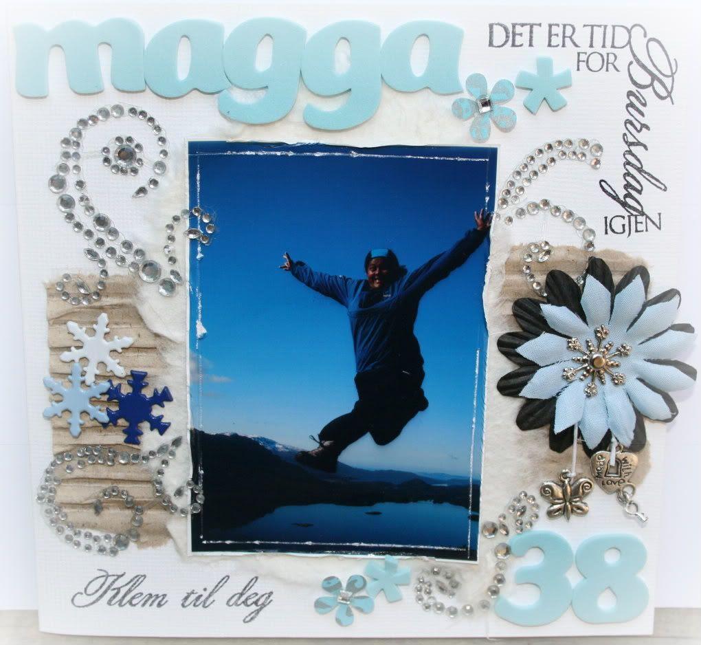 Magga - bildet ble tatt i april på Eikefjordstølen, he-he :D