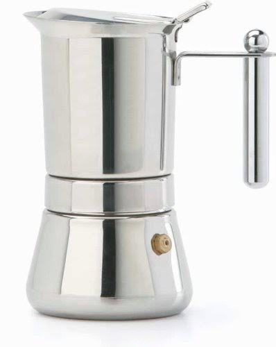 Electric Coffee Maker Invented : Best Espresso Maker: Buy Vev Vigano 8310 Vespress Inox 12-cup Coffee Pot - Made in Italy with ...