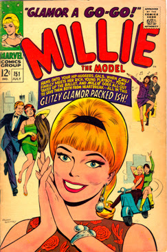 Thoroughly modern Millie the Model #151 (July ...