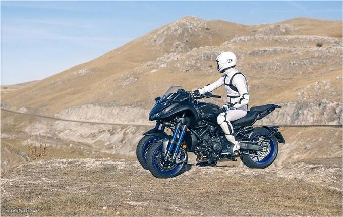 Yamaha tampaknya ingin menunjukkan pengalaman yang berbeda dalam berkendara Merasakan Esensi Tunggangan Beroda Tiga Lewat Yamaha