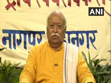 RSS chief Mohan Bhagwat. ANI