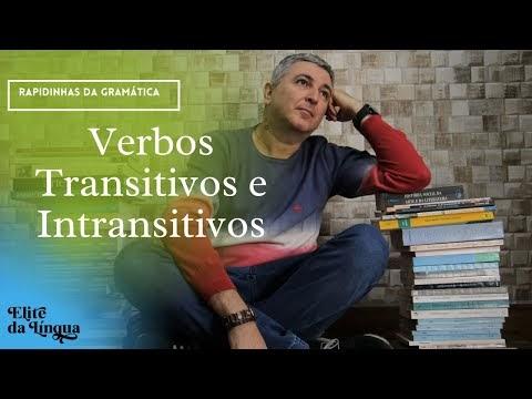 """Professor Emerson Calil Rossetti APRESENTA """"Verbos transitivos e intransitivos / Rapidinhas da gramática I"""""""