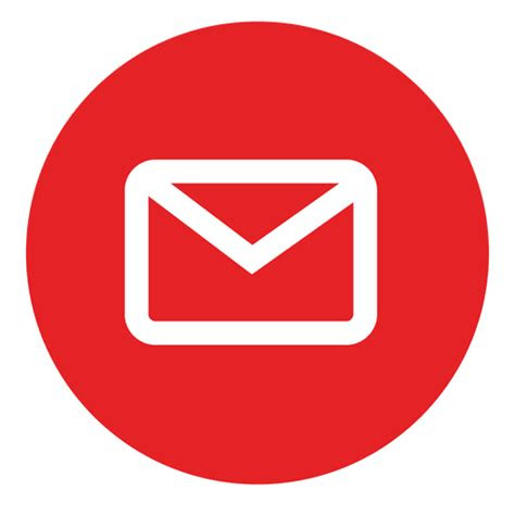 email inbox circle png clipart image icon