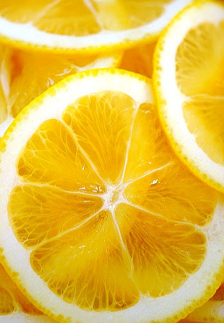 meyer lemon slices©