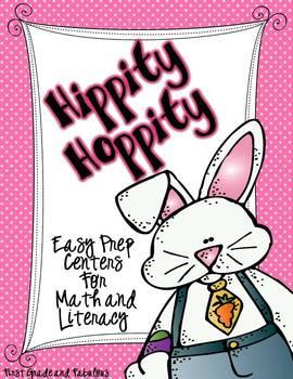 http://www.teacherspayteachers.com/Product/Hippity-Hoppity-Easy-Prep-Centers-for-Math-and-Litearacy-223028