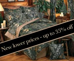 Camouflage Bedding now at lower prices from Camo Trading