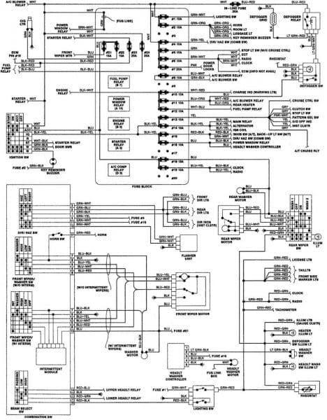 2003 Pt Cruiser Wiring Diagram | schematic and wiring diagram