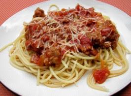 Jo Mama's World Famous Spaghetti. Photo by lazyme