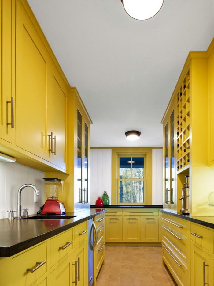 Wandfarbe Küche auswählen - 70 Ideen, wie Sie eine ...