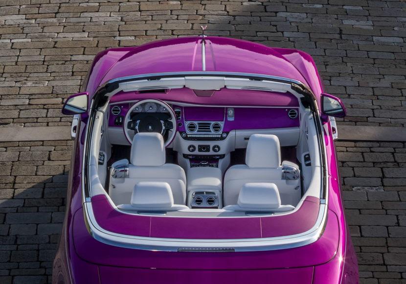 Rolls-Royce special Dawn edition unveiled
