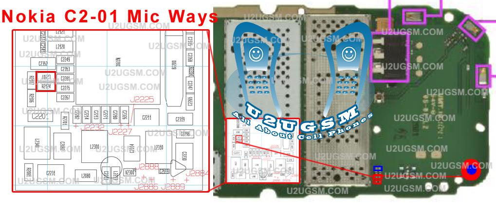 circuit diagram of nokia c2 01 image 2