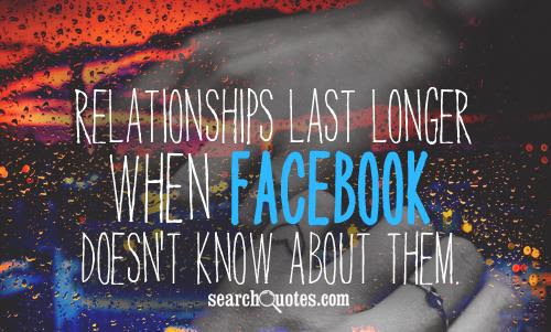 Facebook Ruining Relationships Quotes Quotations Sayings 2019